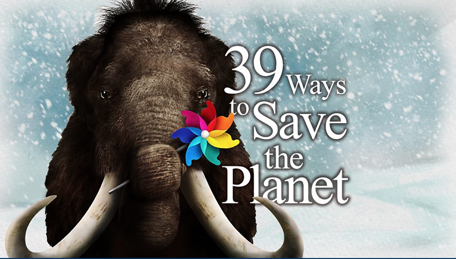 39 ways to save the plnet